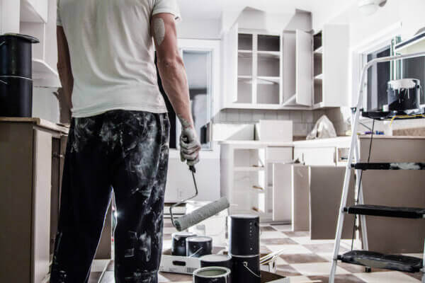 Reinigung nach Renovierungsarbeiten