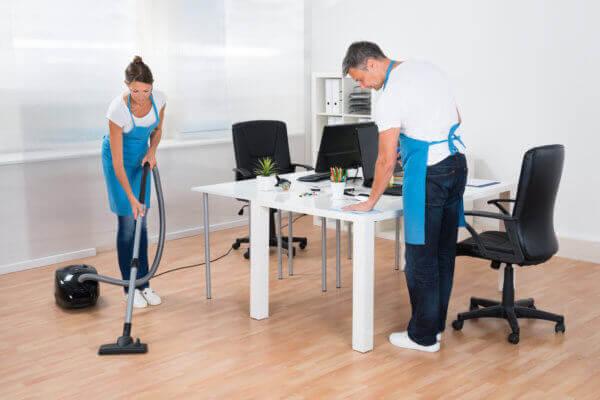 Reinigung von Büros